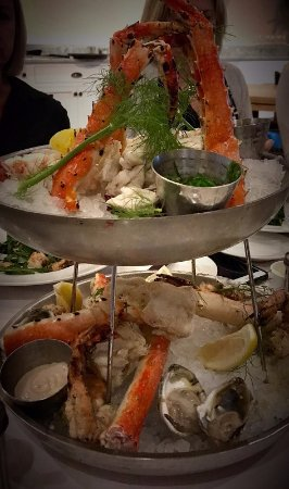 Bay Head, NJ: Seafood tower