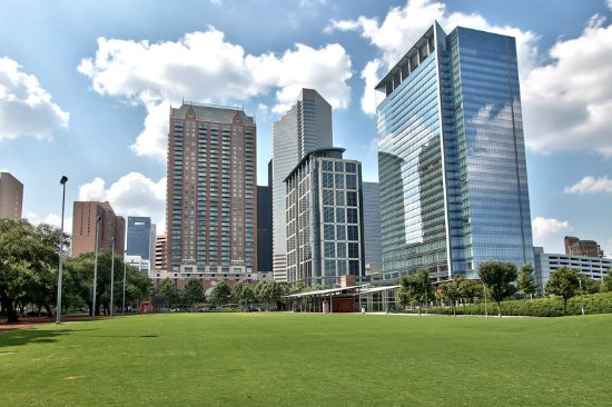 Holiday Inn Express Houston-Downtown Convention Center: Gateway Special Event Park