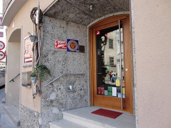 Restaurant Esszimmer: こちらがレストランへの入口
