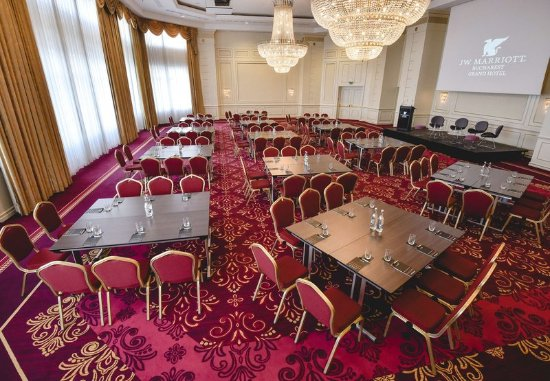 JW Marriott Bucharest Grand Hotel: Constanta Ballroom - Conference Setup