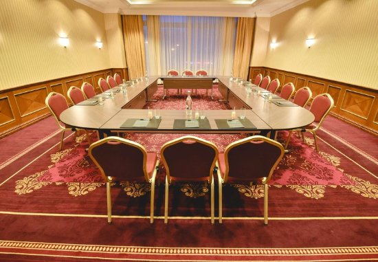 JW Marriott Bucharest Grand Hotel: Galati Meeting Room - Conference Setup