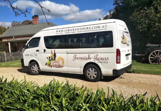 Tanunda, Australia: Our 12 seater bus