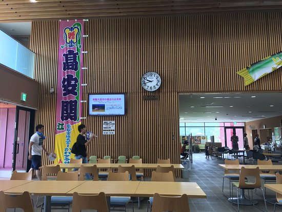 Hitachiomiya, Japan: NHKの朝ドラ、「ひよっこ」の架空の舞台、奥茨城村かも知れません。笑  新大関となった高安のノボリも!