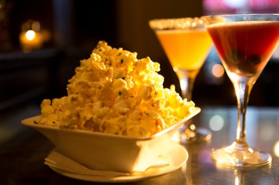 The Mansfield: M Bar - Cocktails and Truffled Popcorn