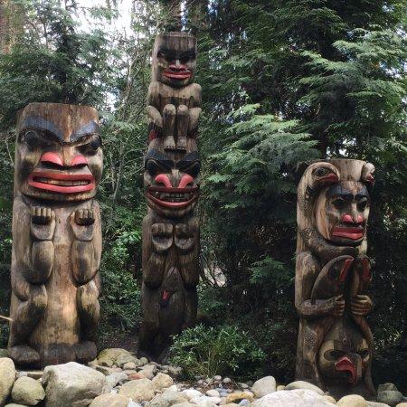 North Vancouver, Kanada: Capilano park