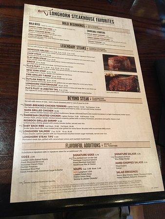 Longhorn Steakhouse Bangor Menu Prices Amp Restaurant