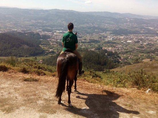 Caldelas, Portugalia: Paisagem deslumbrante