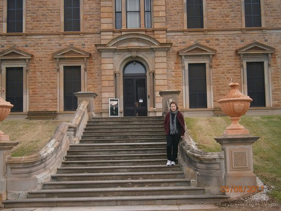 Mintaro, Australia: Grand front entrance