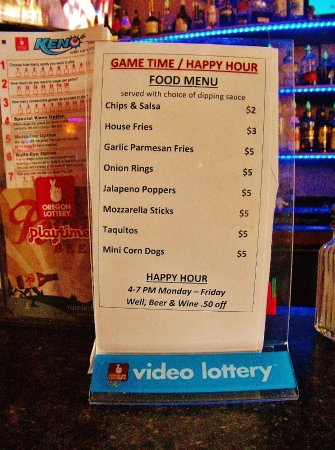 Gresham, OR: Happy Hour list