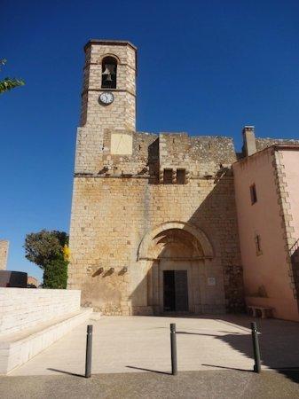 Vila-sacra, Spanje: Església de Sant Esteve, Vila Sacra (Alt Empordà, Gérone, Catalogne), Espagne.