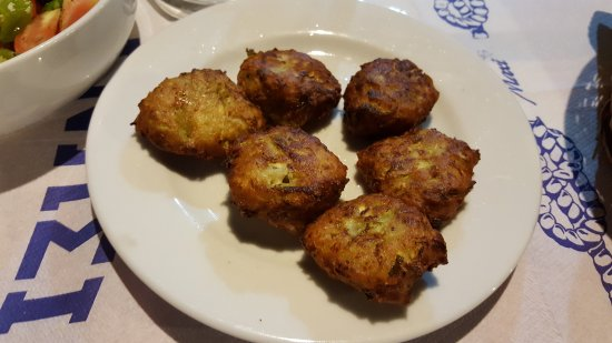 Argalasti, Grekland: Tasty fried pumpkin balls