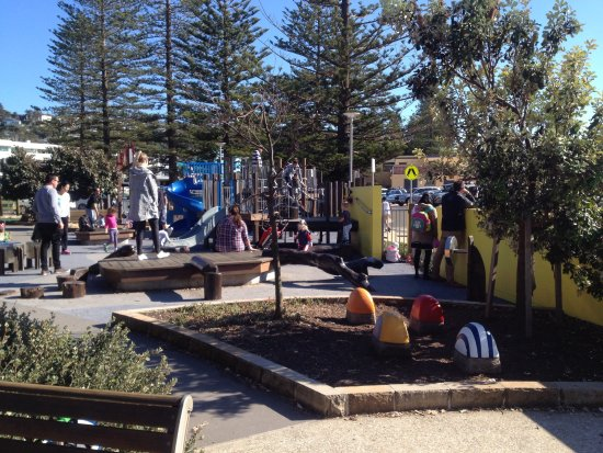 Collaroy Beach, Australien: Play areas