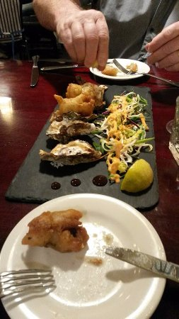 Waiuku, Selandia Baru: Superb entree at Agave Restaurant - on site