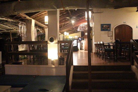 Anjuna, Hindistan: The Restaurant