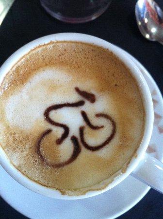 Galapagar, สเปน: Cafe con Bici!!!!