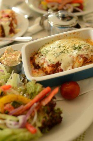 Inch, Ireland: beef lasagna