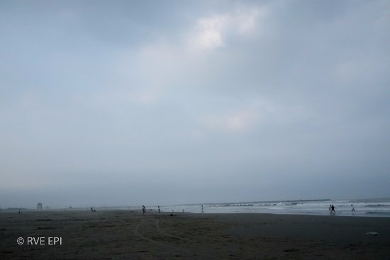 Kujukuri-machi, Japon : 海岸沿い