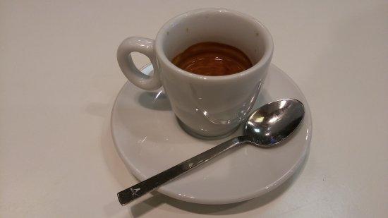 """Province of Padua, Italy: Caffè...in teoria """"macchiato""""...in pratica normale.."""