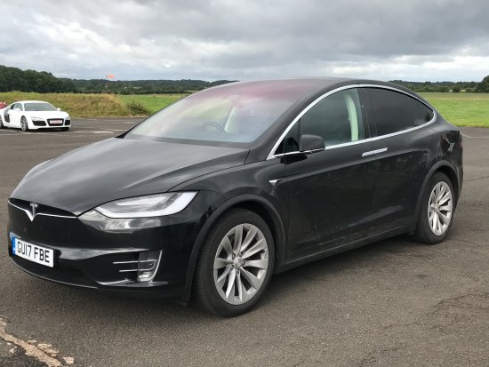DriveMe Driving Experience: Tesla model X at Seighford 3rd August 2017