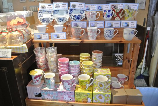 Cute cup for sale - Picture of Gin no Kane 2go Kan, Otaru