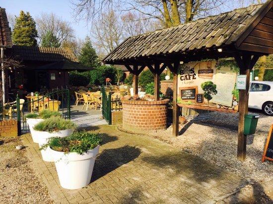 Afferden, هولندا: Ingang restaurant