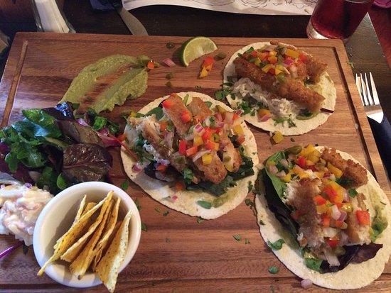 The Beach Bar Sligo: Fish tacos