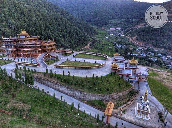 Bomdila, India: TDL Monastery in Dirang, Arunachal Pradesh