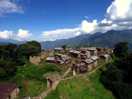 Bomdila, India: 11century village, Thembang, Arunachal Pradesh