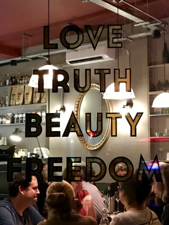 Love Truth Beauty Freedom Picture Of Cabinet Rooms