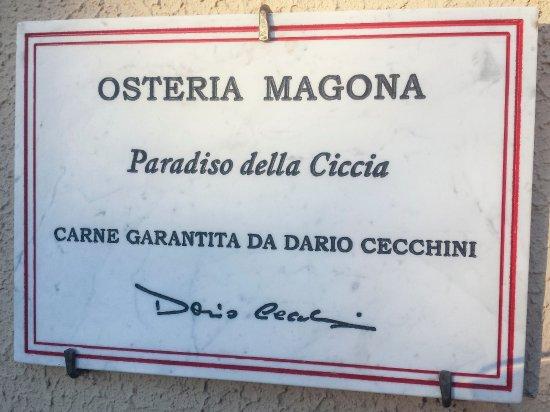 Bagno - Picture of Osteria Magona, Bolgheri - TripAdvisor