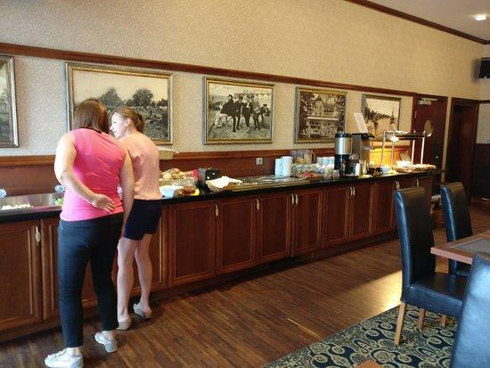 Hotel & Spa Stary Dziwnow: Das Frühstücksbuffet