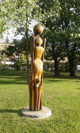 Otrokovice, Republik Ceko: Park