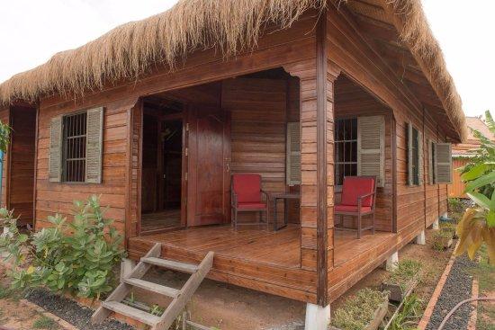 Kampong Thom, Cambodja: Ma maisonette,VRAIMENT JOLIE ET CHARMANTE.....