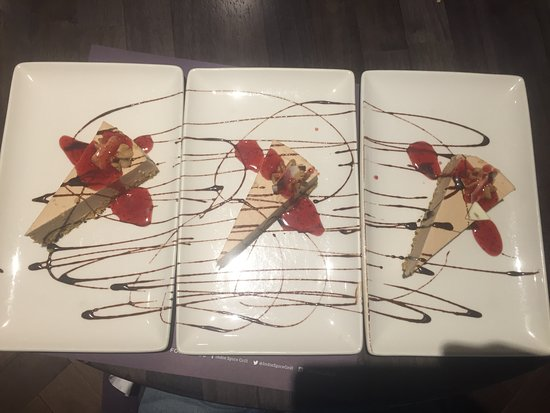 indie spice grill : Baileys Cheese Cake for 3