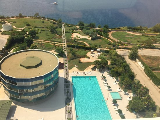 The Marmara Antalya : The beach and the room with sea view