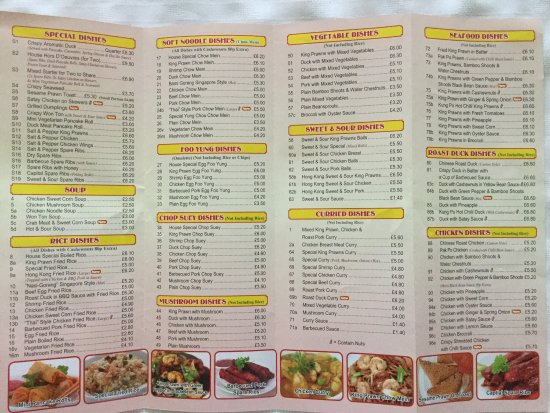 Shefford, UK: Here is the menu as of 1 Aug 17