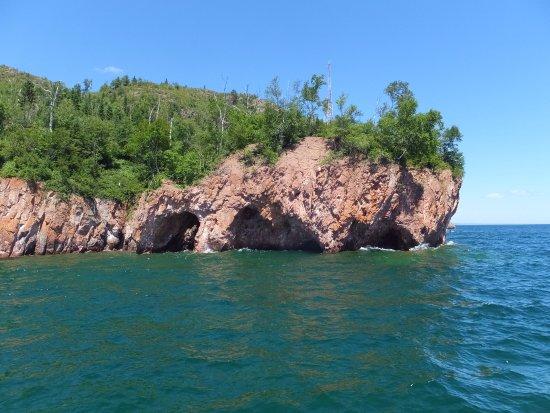 Silver Bay, MN: Sea Caves
