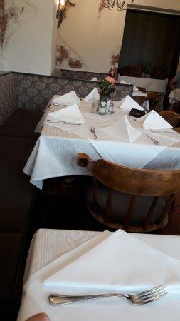 Gasthof Bacher: Tische