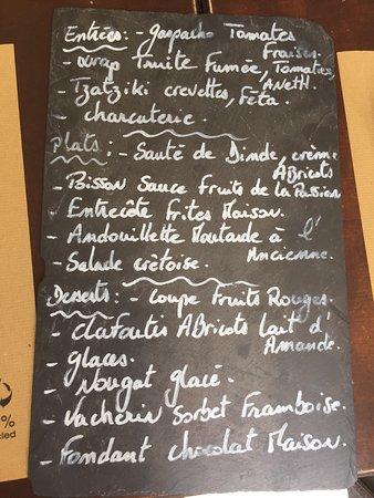 La Riviere-Saint-Sauveur, France: Coup de Fourchette