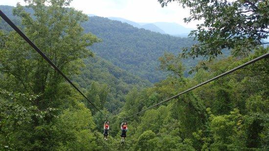 Navitat Canopy Adventures - Asheville Zipline : Extreme FUN