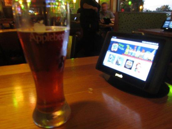 Applebee's: Birra e touch-screen