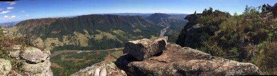 Sapopema, PR: Panorâmica do topo to Pico