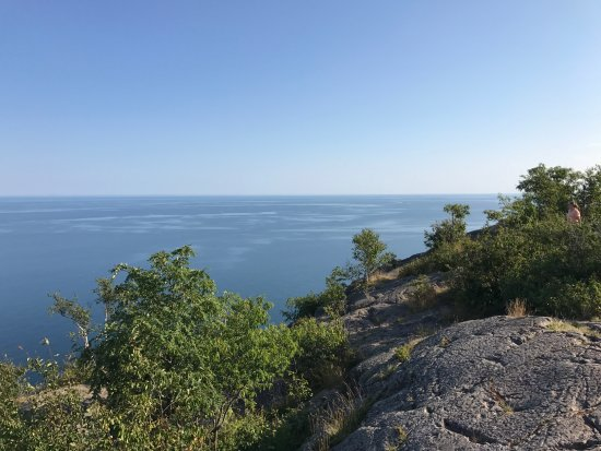 Beaver Bay, MN: View from Palisade Head