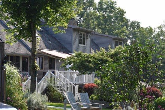 Wallkill, NY: Back porch