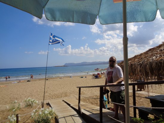 Daratsos, Griekenland: En vacker plats.