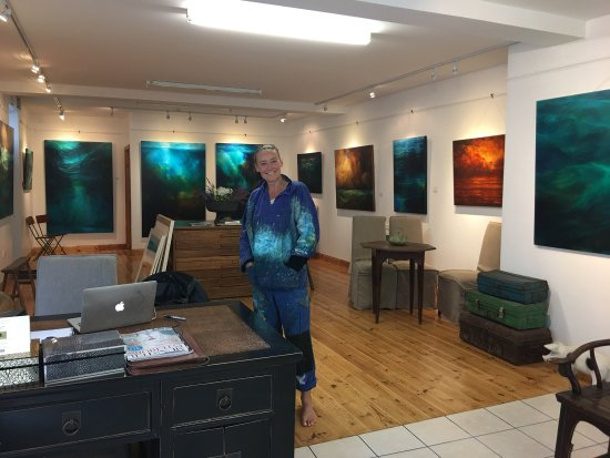 The Carol Cronin Gallery: Great Visit and Welcome