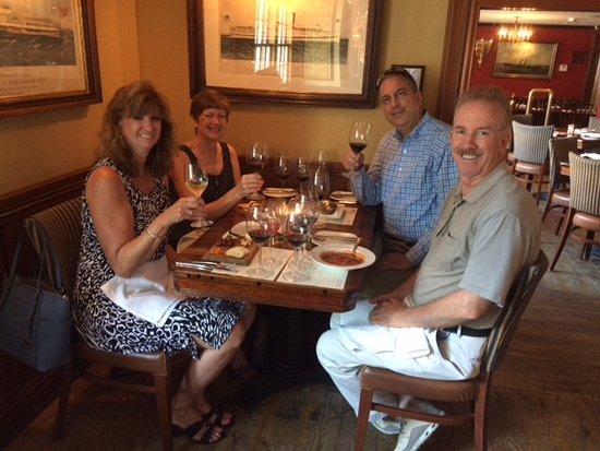 Essex, CT: Jaded savvy foodies whomst were overwhelmed! ;o)