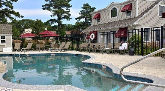 Wellfleet Motel: I LOVED this saltwater pool!