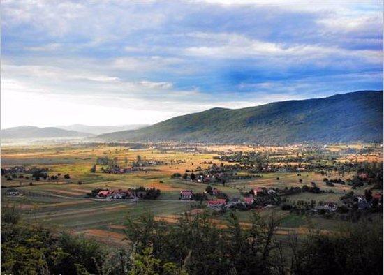 Lika-Senj, Kroatië: Gacka-Tal