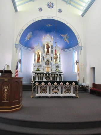 Bryan, TX: St. Anthony Interior